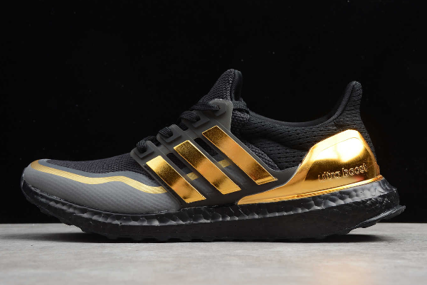 2019 adidas Ultra Boost Black Gold EG8102 For Sale