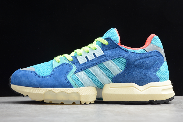2020 New adidas ZX Torsion Bright Cyan Linen Green Blue EE4787 For Sale