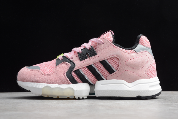 2020 New adidas ZX Torsion Pink Black White EF8093 For Sale