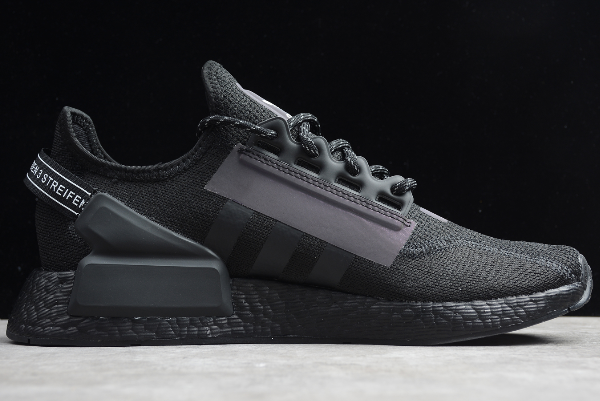 2020 Adidas NMD R1 Boost V2 Triple Black FW1961 For Sale 1