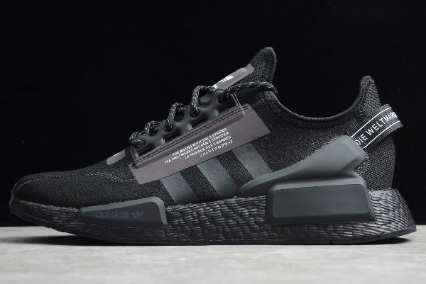 2020 Adidas NMD R1 Boost V2 Triple Black FW1961 For Sale