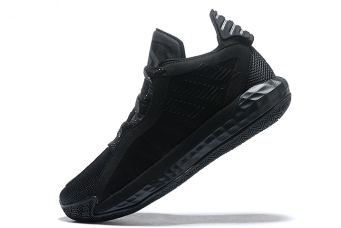 2020 adidas Dame 6 Triple Black For Sale 680x455