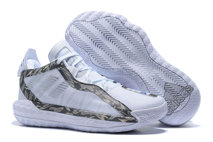 2020 adidas Dame 6 White Silver For Sale 1 680x455