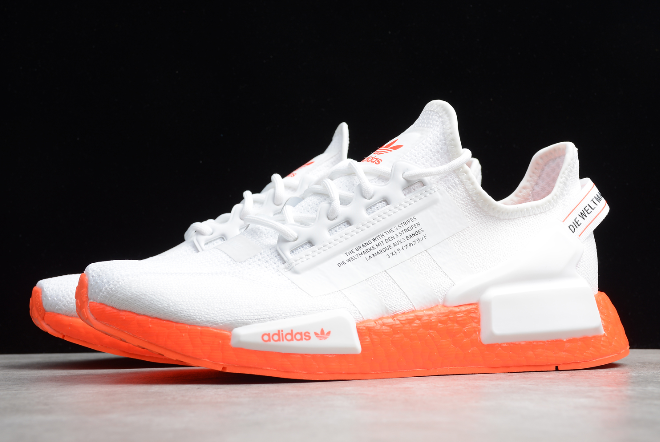 2020 Adidas Nmd R1 V2 White Solar Red Fx3902 For Sale