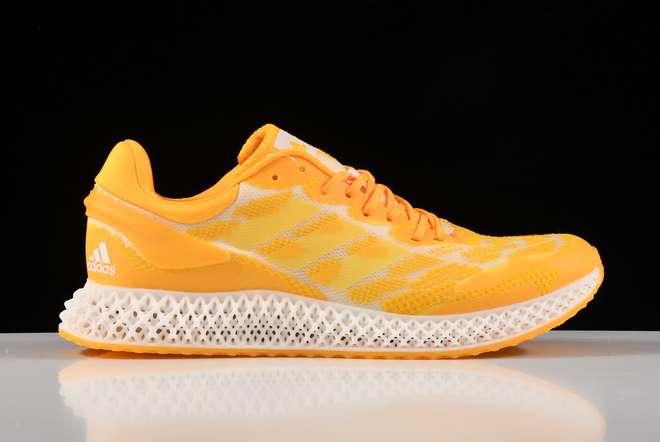 2020 Adidas Alphaedge 4D LTD M Orange Printing Running Shoes FV5318 For Sale 1