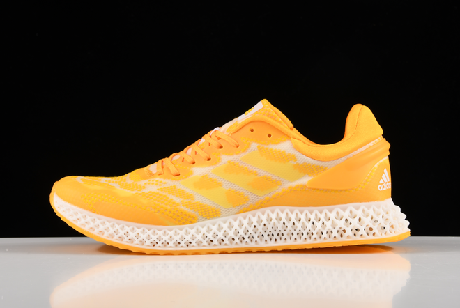 2020 Adidas Alphaedge 4D LTD M Orange Printing Running Shoes FV5318 For Sale