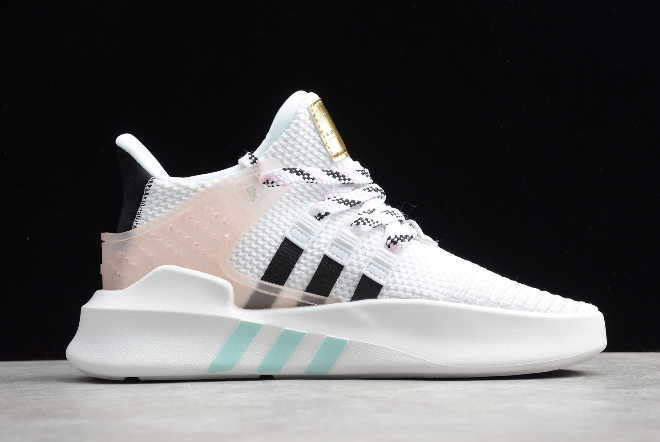 2020 Wmns Adidas EQT Basketball ADV White/Pink-Black EE5043 For Sale