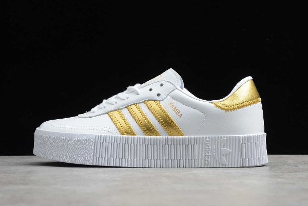 2020 Adidas Originals SambaRose W White Gold EE4681 For Sale