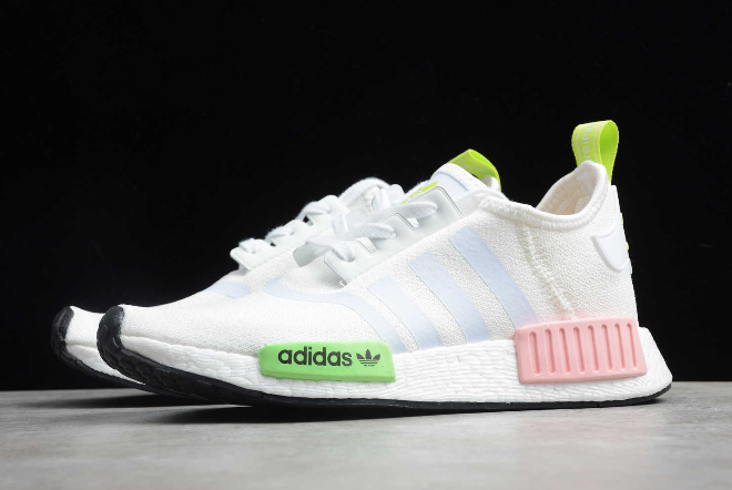 2020 Wmns Adidas Nmd R1 Slime Solar Pink Fx0106 For Sale