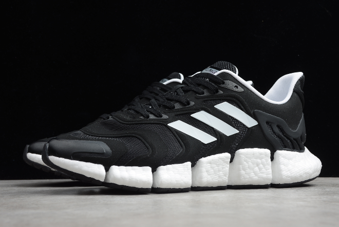 2020 adidas Climacool Boost Black White FX7846 For Sale