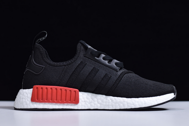2020 Adidas Nmd R1 Black Pink Solar Ee5100 For Sale