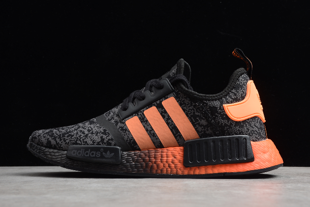 2020 Adidas Nmd R1 Core Black Solar Red Eg7953 For Sale