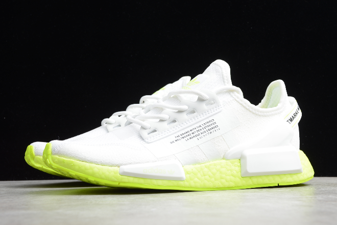 2020 Adidas Nmd R1 V2 White Solar Yellow Fx3903 For Sale