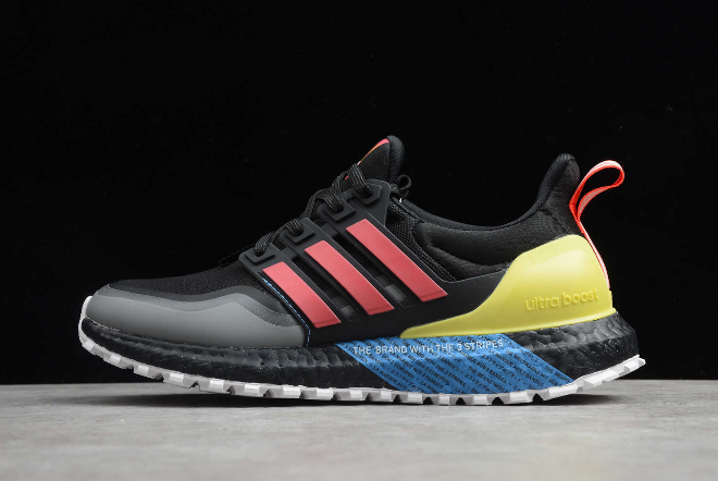 2020 adidas Ultra Boost All Terrain Black Shock Red Shock Yellow EG8097 For Sale
