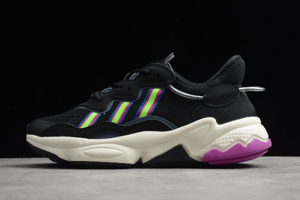 2020 adidas Wmns Ozweego Core Black Pink EF4291 For Sale
