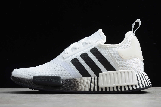 2020 adidas made for new york women in film Boost White/Black FV3686 For Sale