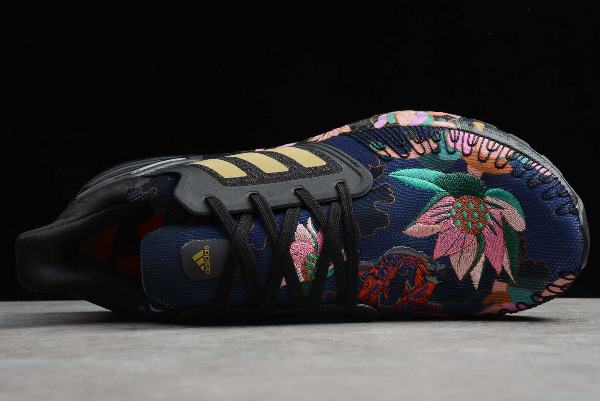 2020 adidas Ultra Boost 20 Chinese New Year Floral Black FW4310 For Sale