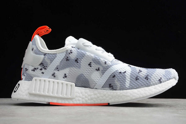 2020 Wmns Adidas Nmd R1 Camo Pack Cloud White Solar Red G27933 For