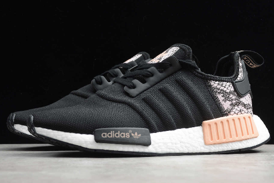 2020 Adidas Nmd R1 Reptile Pack Black Pink Spirit White Fw5278 For