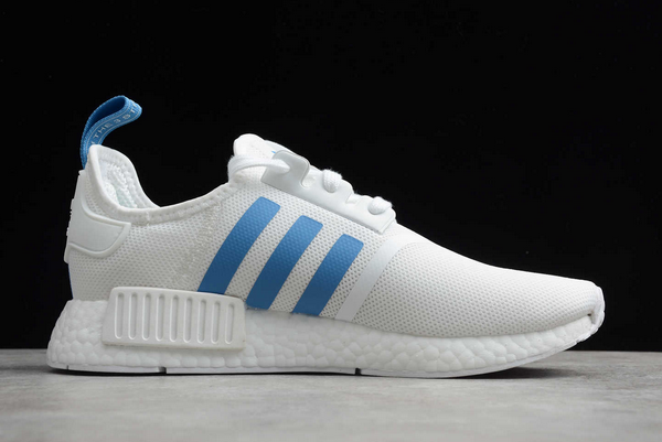 2020 adidas NMD R1 White Blue D96689 For Sale 1