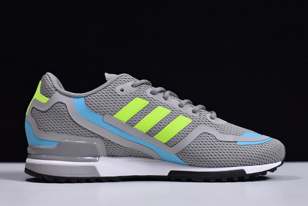 2020 adidas Original ZX 750 HD Grey Three Solar Yellow Core Black FW4590 For Sale 1