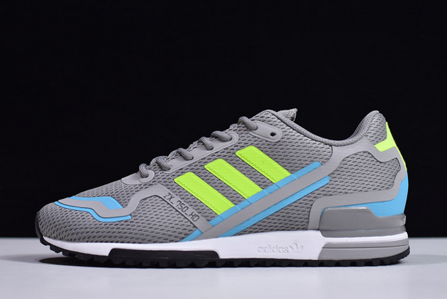 2020 adidas Original ZX 750 HD Grey Three Solar Yellow Core Black FW4590 For Sale