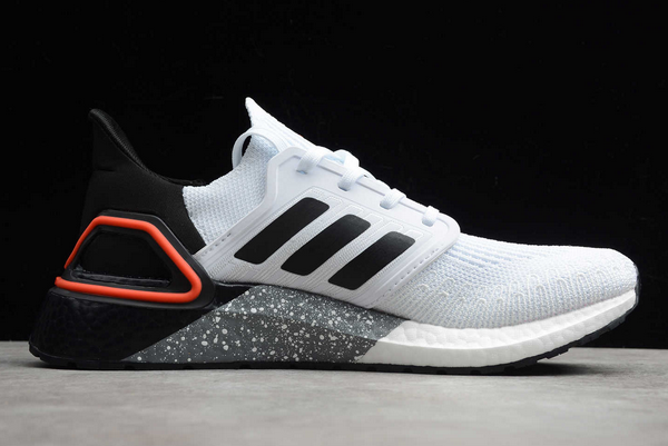 2020 adidas UltraBoost 20 White Scarlet FX8333 For Sale