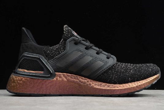 2020 adidas Ultraboost 20 Black Signal Pink FV8340 For Sale 1
