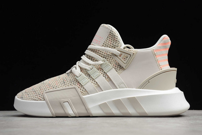 2020 adidas EQT Bask ADV Beige Pink White FU9021 For Sale