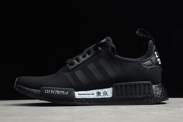 2020 adidas NMD R1 Tokyo Black White H67746 For Sale