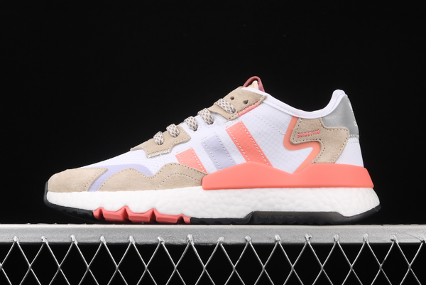 2020 adidas Nite Jogger White Glory Pink FX7459 For Sale