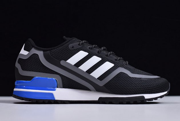 2020 adidas ZX 750 HD Black Grey FW4019 For Sale 1