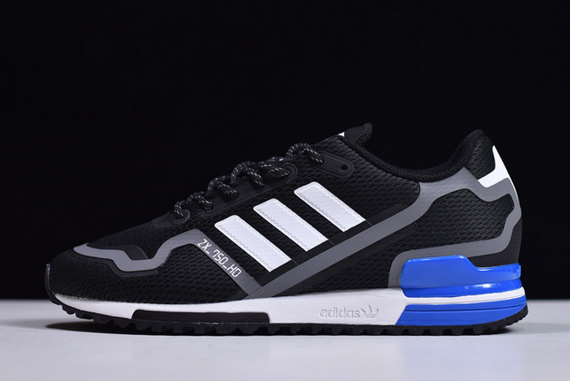 2020 adidas ZX 750 HD Black Grey FW4019 For Sale