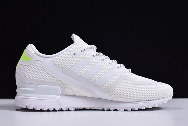 2020 adidas ZX 750 HD Cloud White Signal Green FV8490 For Sale 1
