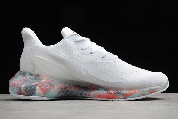 2020 adidas Alphabounce Beyond M White Multi Color CG3716 For Sale 1