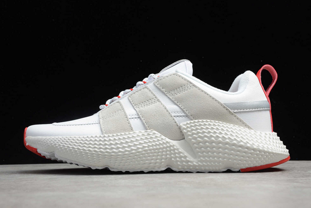 2020 adidas Prophere V2 White Red FW4260 For Sale
