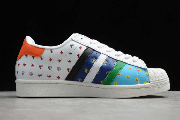 2020 Sizex adidas Superstar City Series Tribute FX7175 For Sale 1