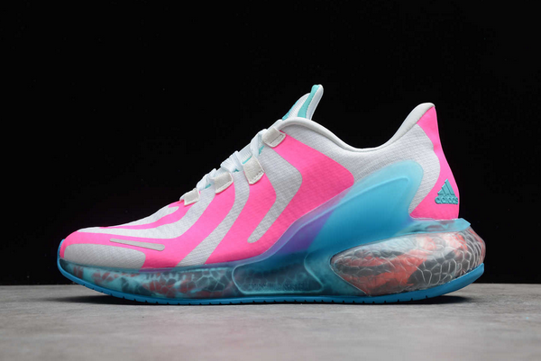 2020 adidas Alphabounce Beyond W White Pink Blue CG3819 For Sale
