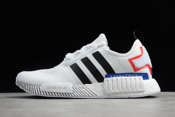 2020 adidas NMD R1 Japan Pack White/Black-Red-Blue EF00753 For Sale