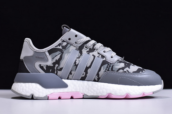 2020 adidas Nite Jogger Boost Camo Grey EH1291 For Sale 1