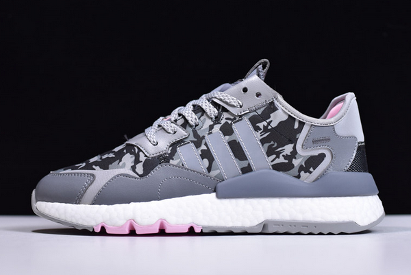 2020 adidas Nite Jogger Boost Camo Grey EH1291 For Sale