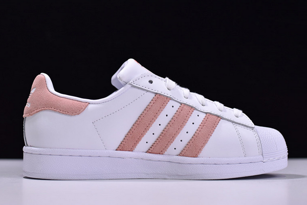 2020 adidas Wmns Superstar Cloud White Glow Pink EF9249 For Sale 1