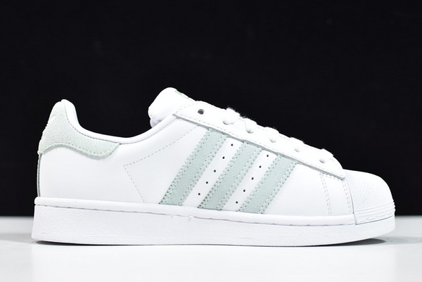2020 adidas Wmns Superstar White Vapour Green EE7401 For Sale 1