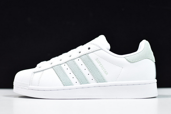 2020 adidas Wmns Superstar White Vapour Green EE7401 For Sale