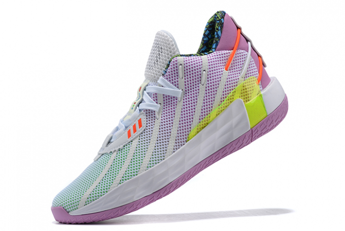 2020 Toy Story x adidas Dame 7 Buzz Lightyear Cloud White Signal Green Solar Red FY4924 For Sale 680x455