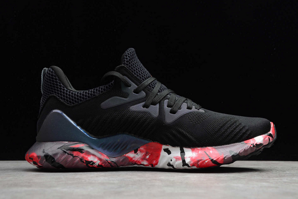 2020 adidas AlphaBounce Beyond M Black Red CG3304 For Sale 1
