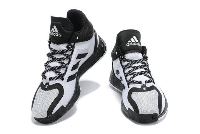 2020 adidas D Rose 11 Black White For Sale 1 680x455