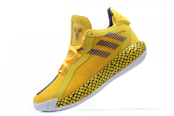 2020 adidas Dame 6 Lakers Yellow Court Purple White For Sale 680x455