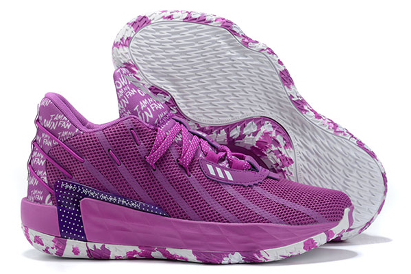 2020 adidas Dame 7 I Am My Own Fan Glory Purple Cloud White FY0159 For Sale 1