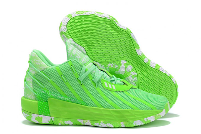 2020 adidas Dame 7 Volt White For Sale 1 680x455